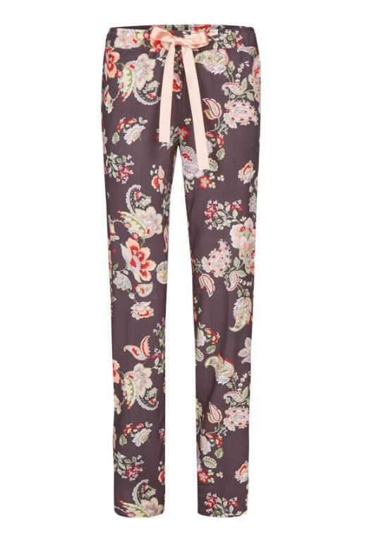 Long Trousers with Floral Print 0256504