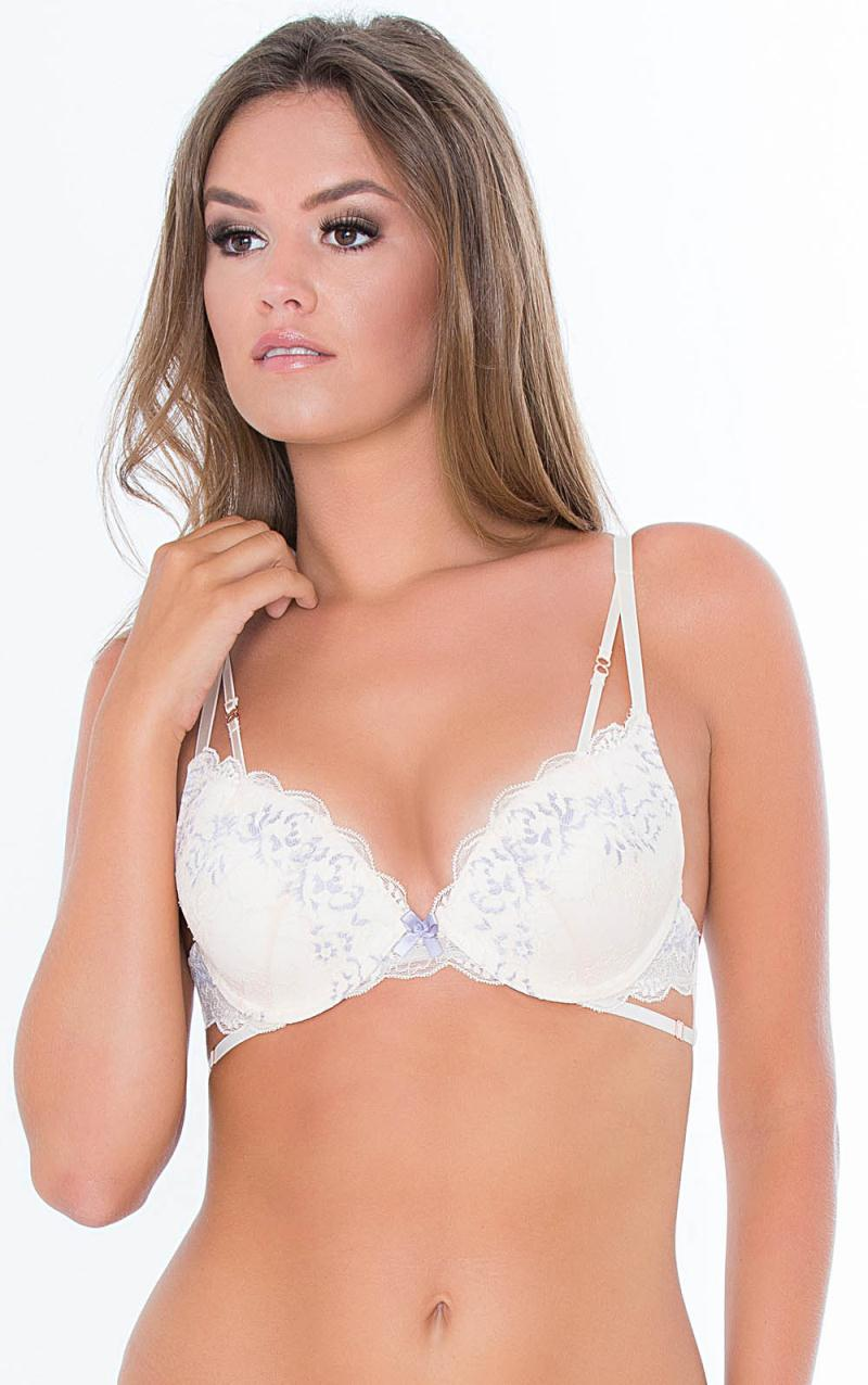 Ava Padded Underwire Bra with Lace 10.05.6035