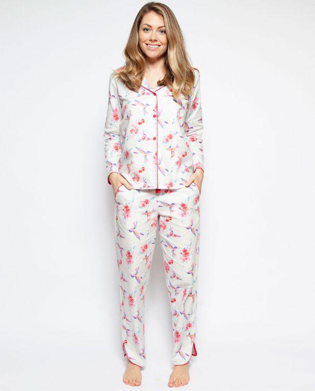 Evie Hummingbird Print Pyjamas 4101/4202