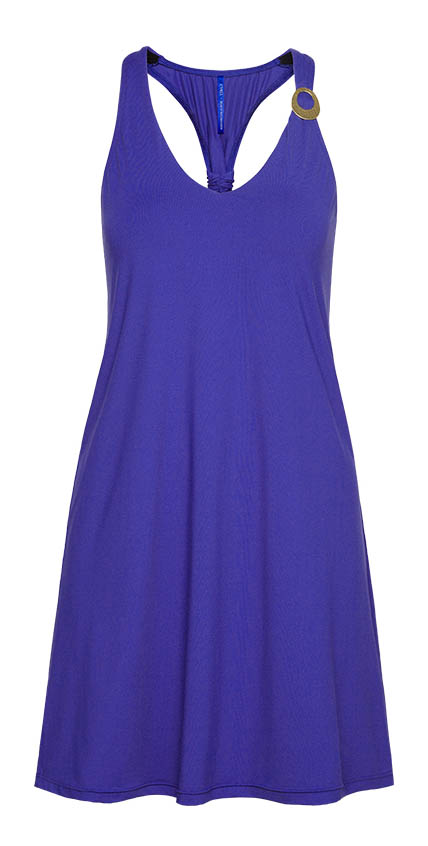 Deep Blue Beach Dress 810520