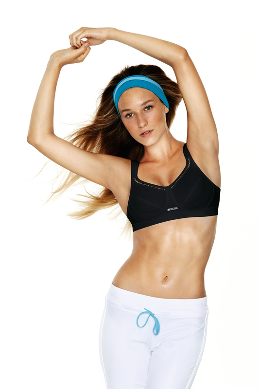 Active Classic Support Non-Wired Sports Bra S102