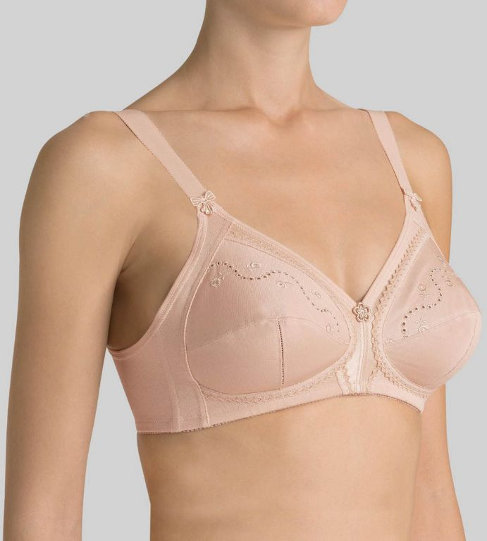 Doreen + Cotton 01 Non-Wired Bra