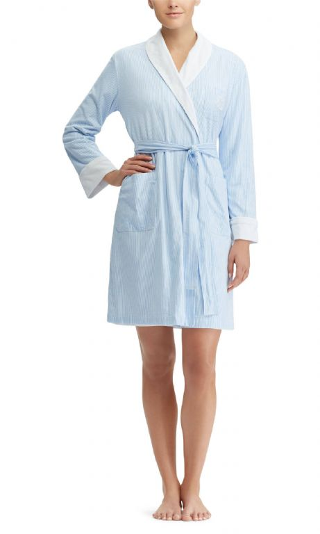 Short Shawl Collar Robe 8141231