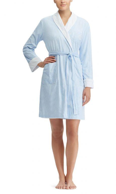 Short Shawl Collar Robe 8141231