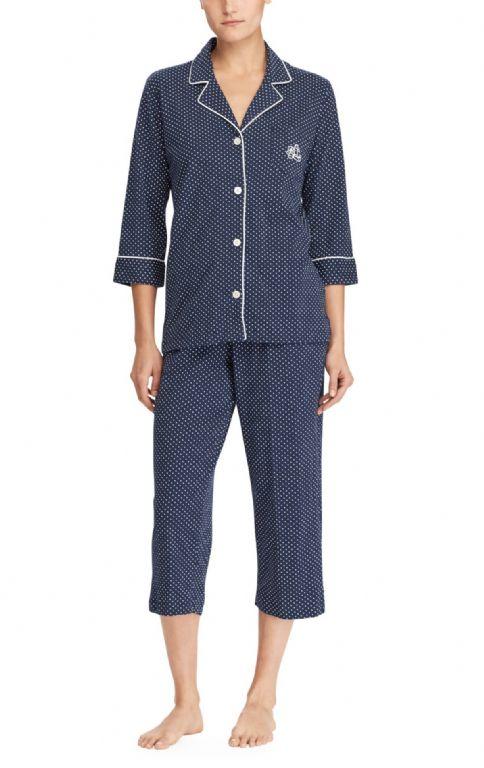 Classic Notch Capri Pyjama Set 819702
