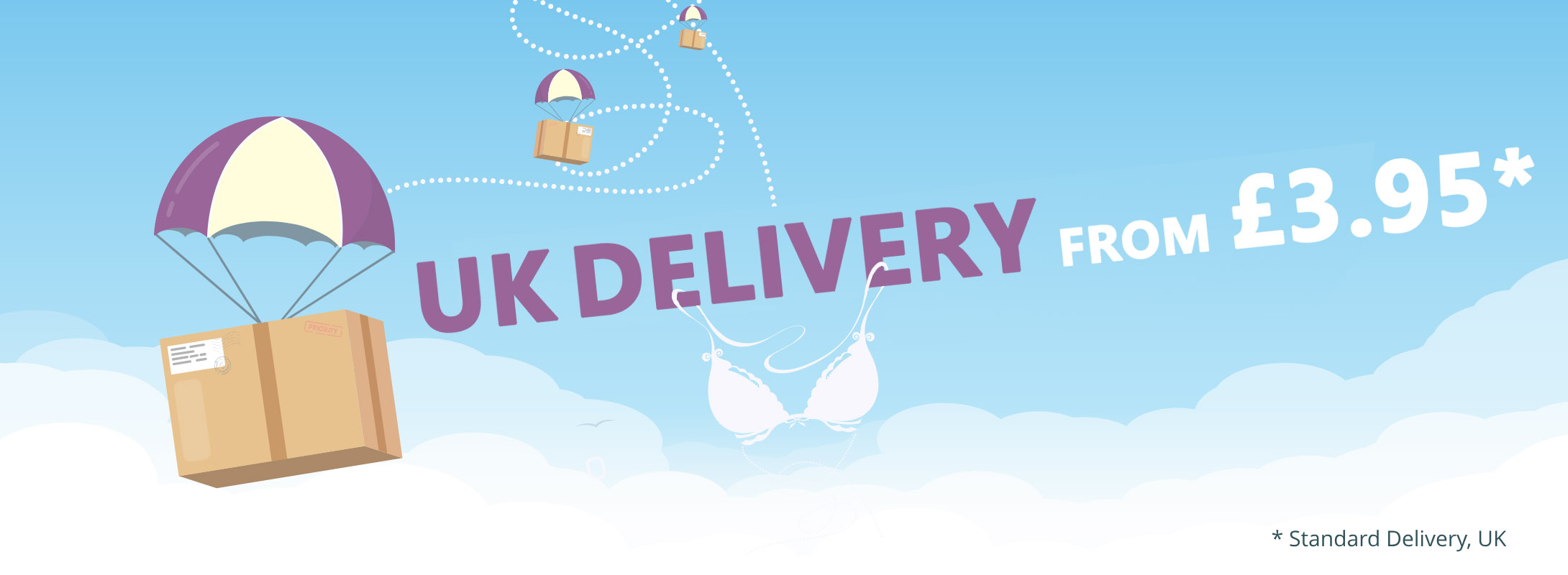 UK Delivery Banner